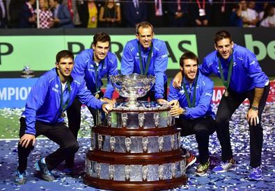 Davis Cup final - Croatia vs Argentina (ANSA)