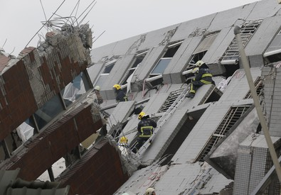 Taiwan Earthquake (ANSA)