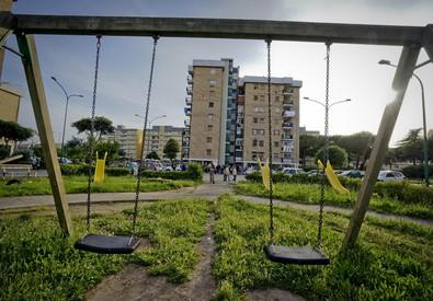 Una immagine del Parco Verde a Caivano (ANSA)