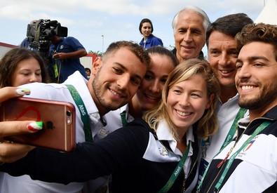 Matteo Renzi a Rio (ANSA)
