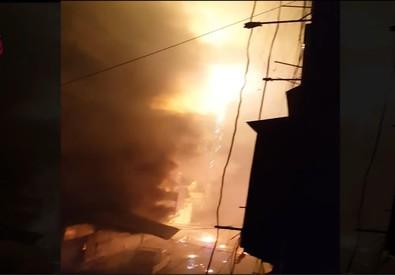 Fermo immagine sul raid su Aleppo (ANSA)