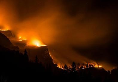 Incendi: Cuneese, la Valle Varaita brucia da luned scorso (ANSA)