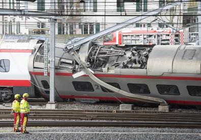 La stazione di Lucerna, in Svizzera (ANSA)