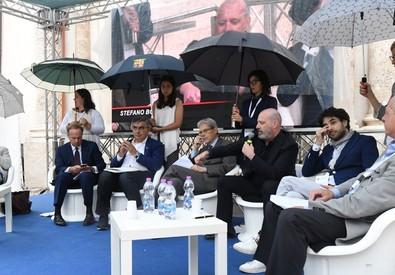 Un momento del convegno a Sulmona, sabato 1 luglio 2017 (ANSA)