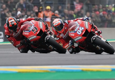 Motorcycling Grand Prix in Le Mans (ANSA)