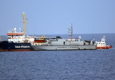 Sea Watch 3 (ANSA)
