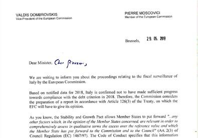 b326d2cfae La lettera di Bruxelles
