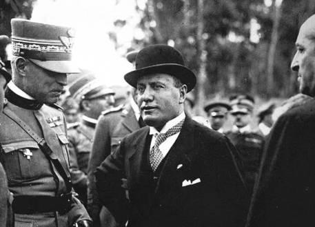 Foto di archivio di Benito Mussolini © ANSA