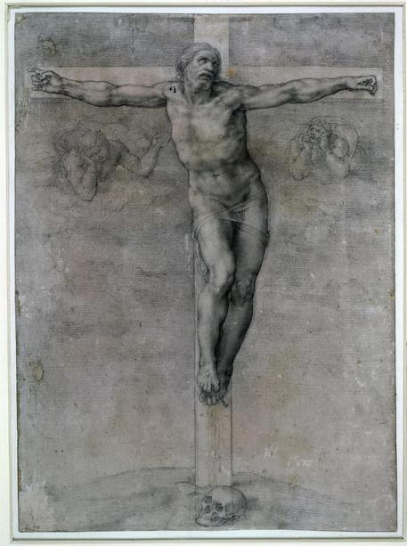 Crocifisso di Michelangelo scoperto a Treviso
