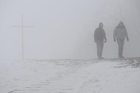 Meteo, arriva il grande freddo. Allerta della Protezione civile della Campania