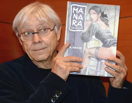 I 70 anni di Milo Manara © ANSA