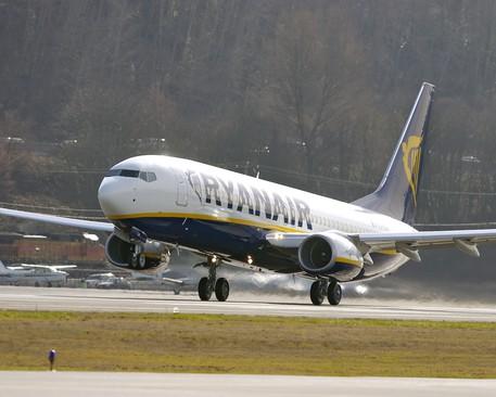 Palermo, volo Ryanair costretto ad atterraggio di emergenza$