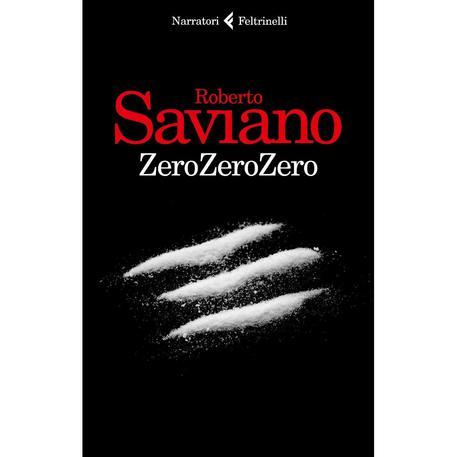 Copertina di ZeroZeroZero di Roberto Saviano (foto: ANSA)