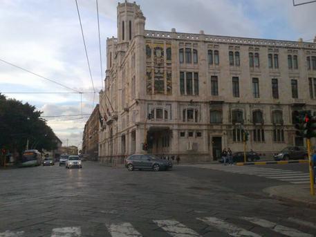 Albero e presepe in Municipio Cagliari