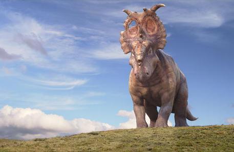 Il mondo dei dinosauri in mostra alla fiera di genova for Piani di fattoria a grandezza naturale