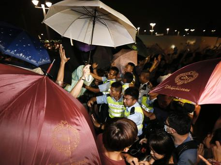 Hong Kong Occupy Central (foto: EPA)