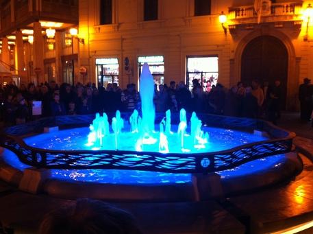 Fontana luminosa arreda piazza valignani abruzzo for Fontana arreda