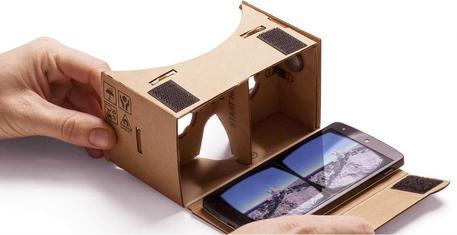 Con Cardboard su Street View arriva la realtà virtuale