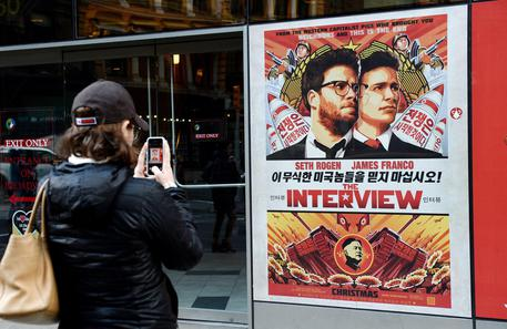 Sony, Anonymous pronto a distribuire il film The Interview © EPA
