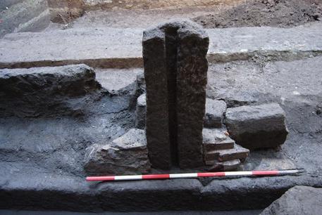 Reperti archeologici trovati durante gli scavi Ansa/Ufficio Stampa © ANSA