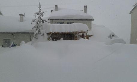 Neve a Capracotta, Molise © ANSA