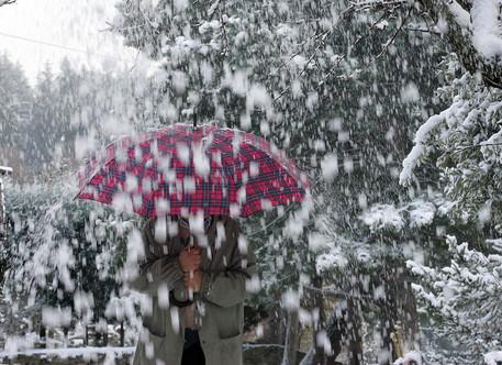 Maltempo, prima neve sull'Appennino. Bora a Trieste