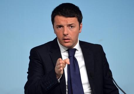 Il presidente del Consiglio Matteo Renzi (foto: ANSA)
