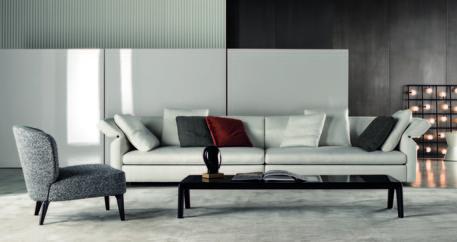 Design da minotti arriva 39 collar 39 divano modulabile for Divano minotti