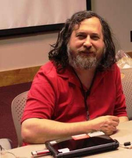 Richard Stallman (Credit: Free Software Foundation) (foto: ANSA)