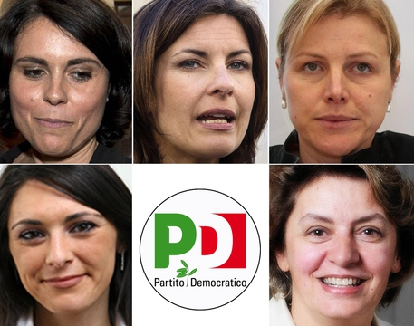 Svolta pd 5 donne capolista per europee giusi nicolini for Deputate pd donne elenco