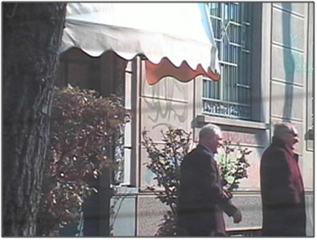 Gianstefano Frigerio e Primo Greganti in un frame da una ripresa video effettuata nella fase delle indagini © ANSA