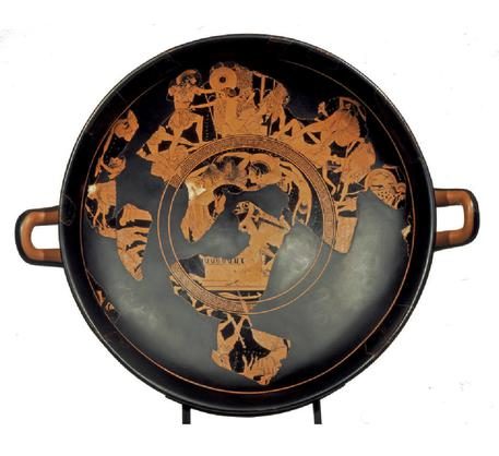Euphronios Kylix On Show After Return From Getty English Ansa