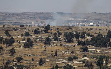 Il confine tra Siria e Israele in un'immagine d'archivio (foto: EPA)