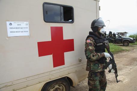 Ebola in Liberia (foto: EPA)