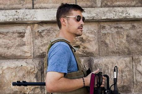 Il giornalista Usa, James Foley (foto: EPA)