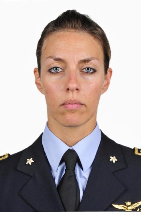 Una foto fornita dall'areonautica militare il 21 agosto 2014 mostra Mariangela Valentini.  ANSA/AREONAUTICA MILITARE (foto: ANSA)