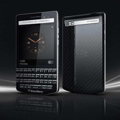Un BlackBerry di lusso targato Porsche