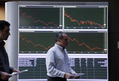 Borsa Atene chiude in forte calo, -4,75%