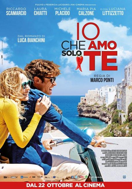Il poster di 'Io che amo solo te' © Ansa
