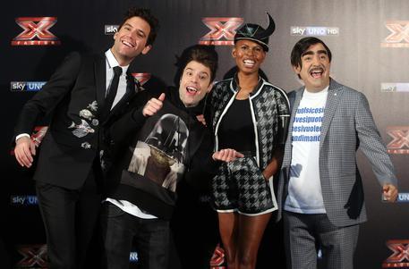 I quattro giudici di X Factor © ANSA
