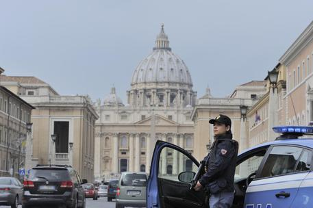 Security at St Peter's (foto: ANSA )