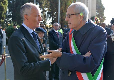 Il neo commissario di Roma Francesco Paolo Tronca e il prefetto Franco Gabrielli © ANSA