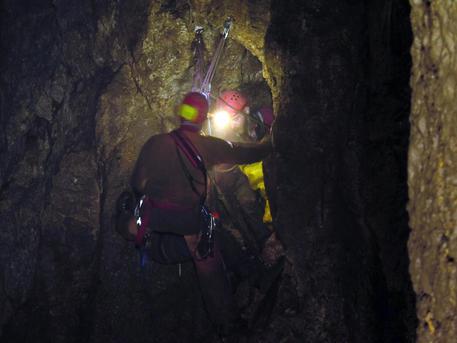 Speleologa ferita nel Reatino, salvata