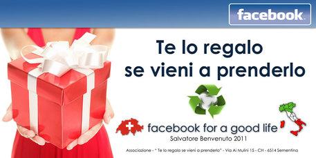 Su facebook seconda vita per oggetti internet e social for Regalo oggetti vecchi