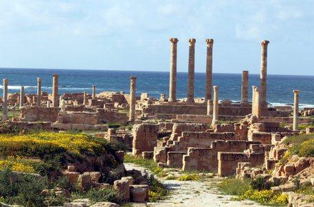 Il sito archeologico di Sabrata © EPA