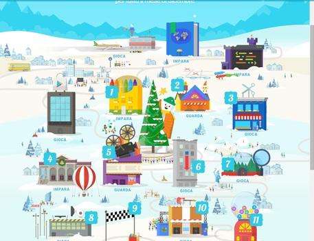 Vigilia Di Natale Lidea Di Google Segui Il Viaggio Di Babbo