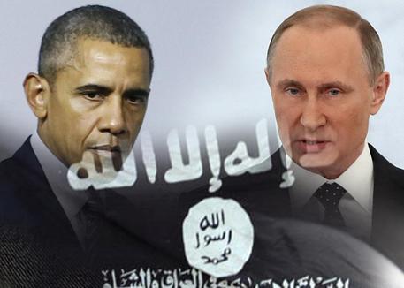 Barack Obama e Vladimir Putin (elaborazione) © ANSA