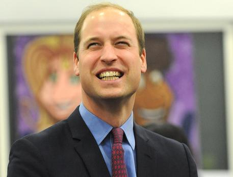 Il principe William © AP