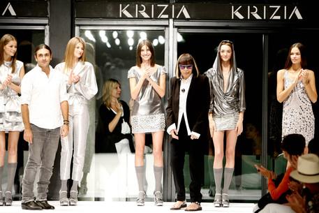 Italian Fashion Designer Krizia Dead Lifestyle Ansa It