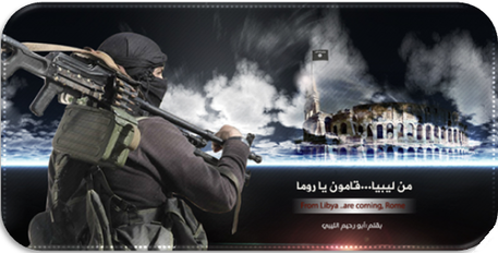 Nuove minacce Isis via Twitter, bandiera sul Colosseo © Ansa